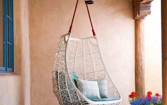 تاب صندلی ریلسکی و آویزان برای بالکن و تراس خانه