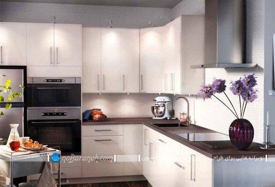 طراحی دکوراسیون شیک و مدرن آشپزخانه / عکس