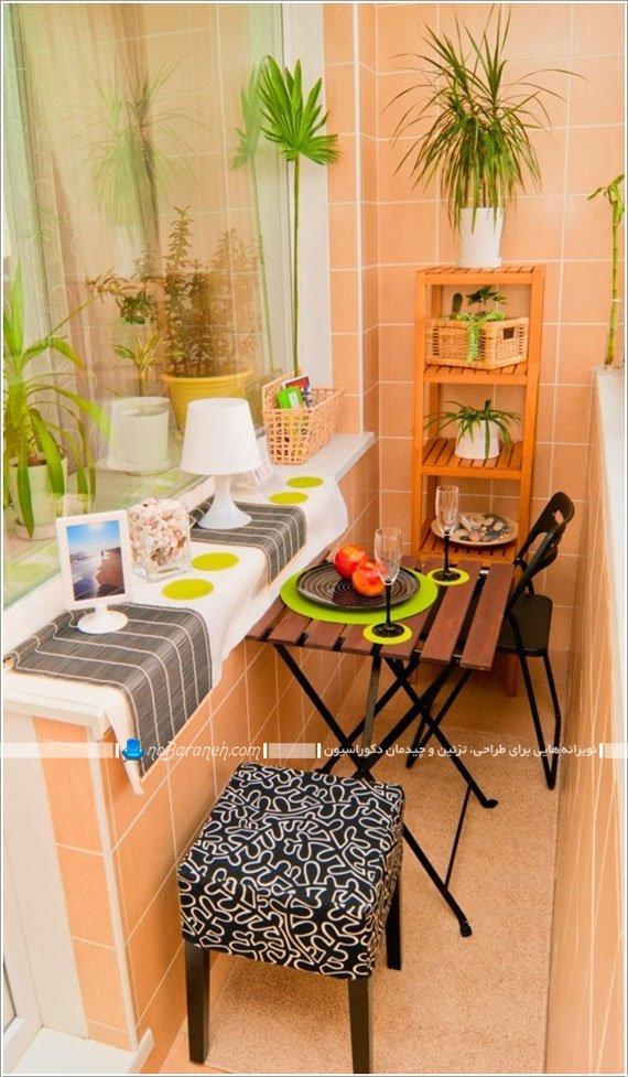 از بالکن و تراس خانه بعنوان اتاق ناهارخوری استفاده کنید / عکس