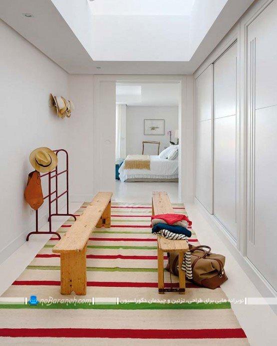 دیزاین اتاق رختکن خانه ویلایی