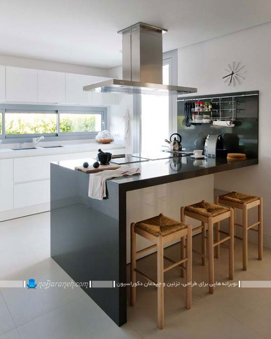 طراحی دکوراسیون شیک مدرن آشپزخانه