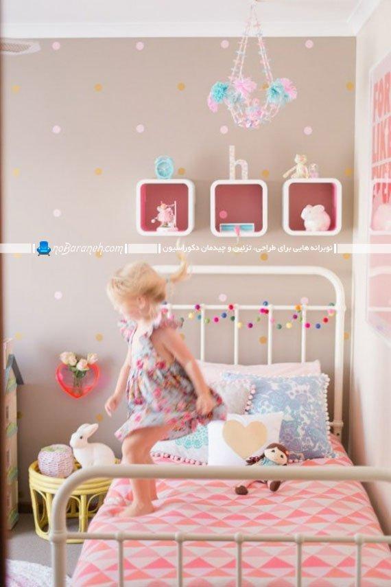 مدل تخت خواب فلزی کودکانه