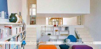 طراحی و چیدمان اتاق پذیرایی قابل تبدیل به اتاق خواب