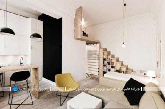 دکوراسیون ساده و ارزان خانه 30 متری