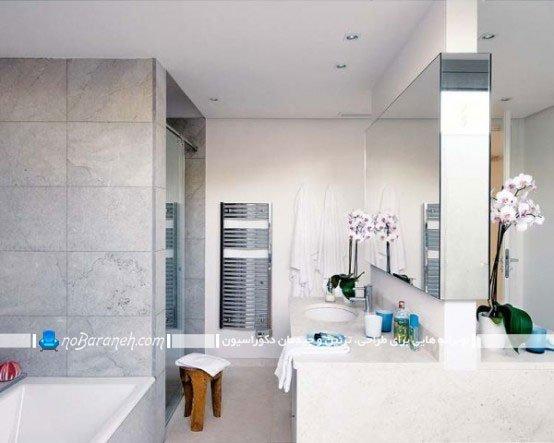 عکسهای دیزاین سرویس بهداشتی خانه ویلایی