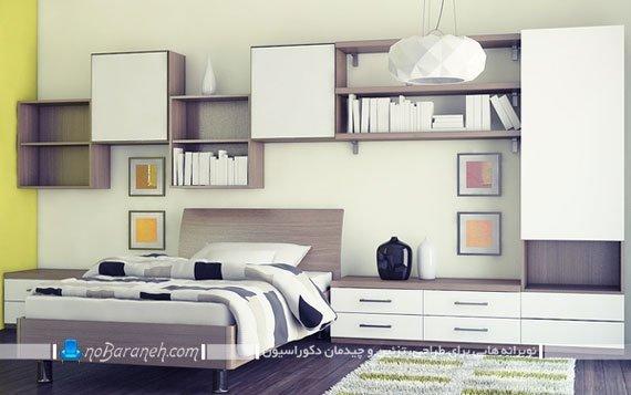 دیزاین اتاق خواب پسرانه به سبک مدرن و شیک