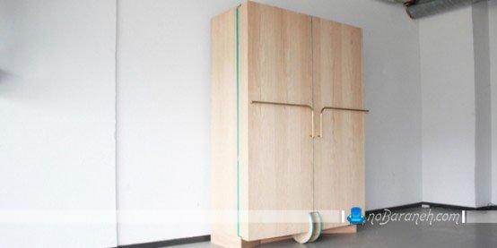 طرح جدید کمد لباس برای اتاق بانوان