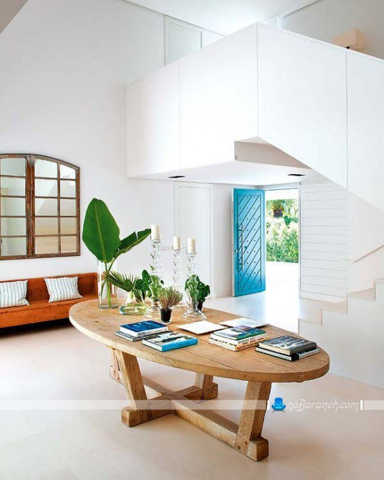 معماری داخلی ویلا به سبک وینتج