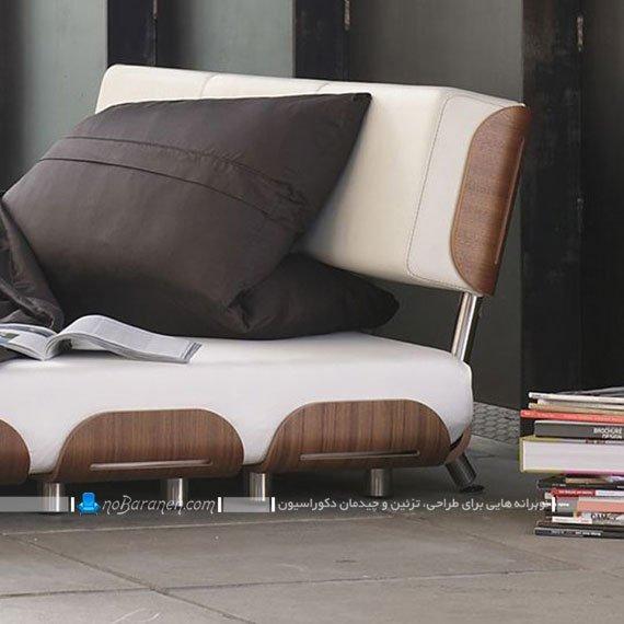 مدل سرویس خواب چوبی پایه کوتاه