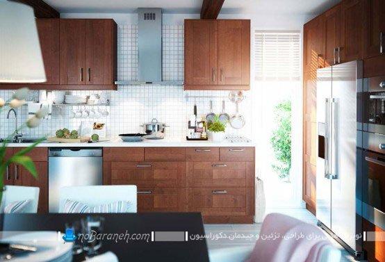 طراحی دکوراسیون مدرن آشپزخانه / عکس