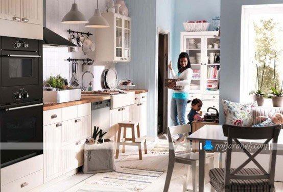 آشپزخانه مدرن و کلاسیک ایکیا / عکس