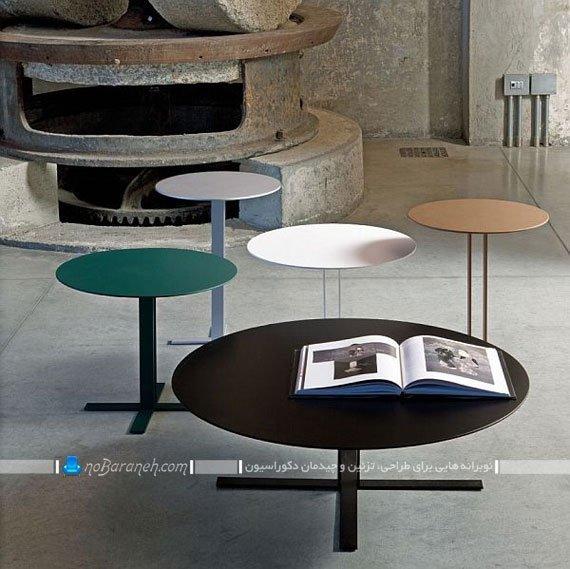 میز پذیرایی و جلو مبلی ساده و شیک / عکس