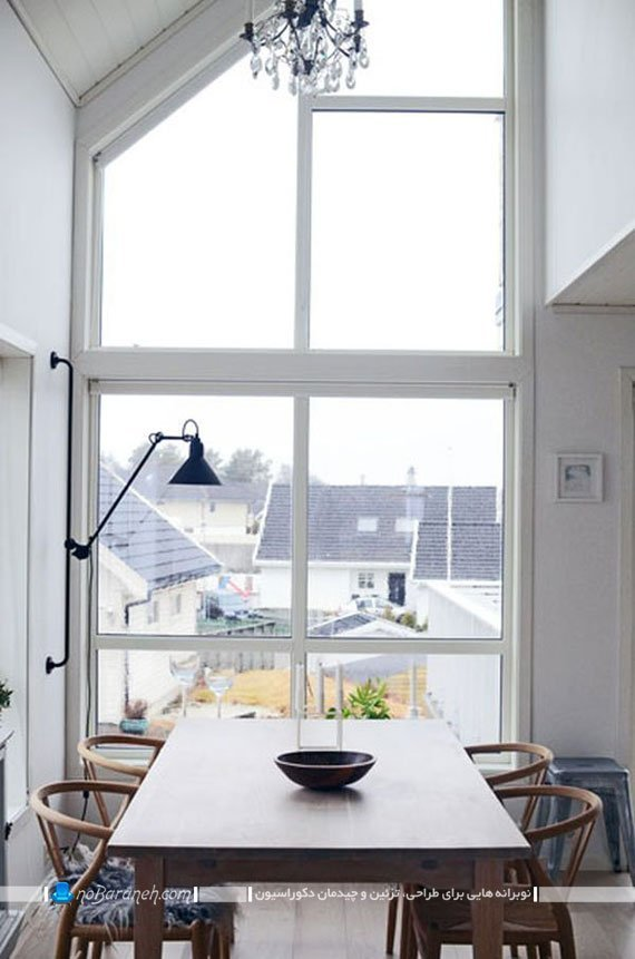 میز ناهارخوری چهار نفره چوبی / عکس