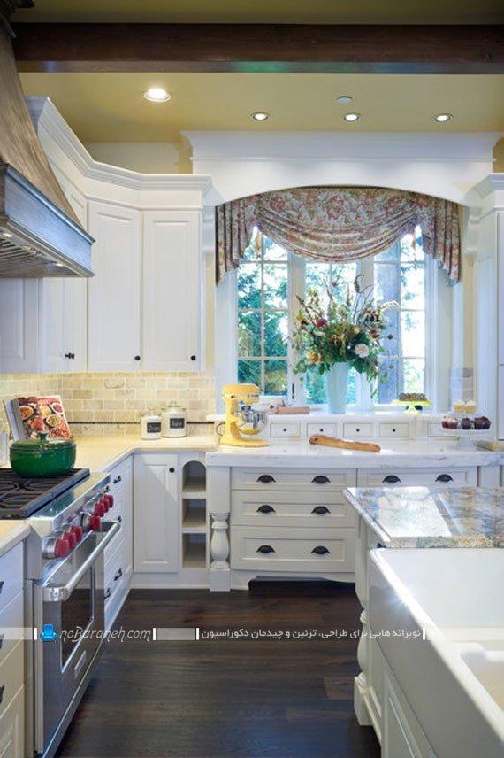 والان پرده آشپزخانه / عکس