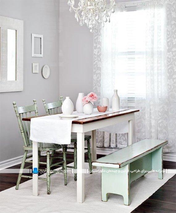 میز ناهارخوری کلاسیک و ساده / عکس