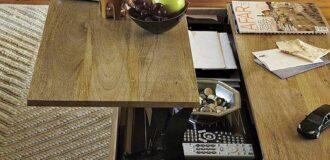 میز پذیرایی مدولار مناسب اتاق پذیرایی کوچک