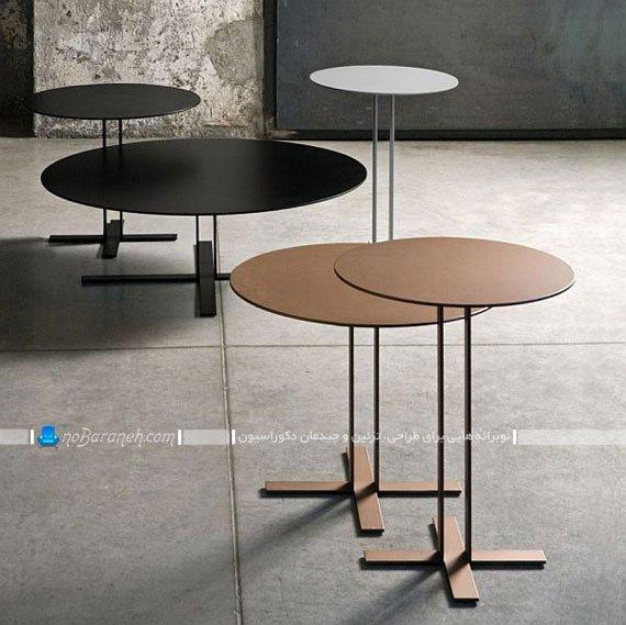 میز پذیرایی و جلو مبلی ساده و شیک و مدرن / عکس