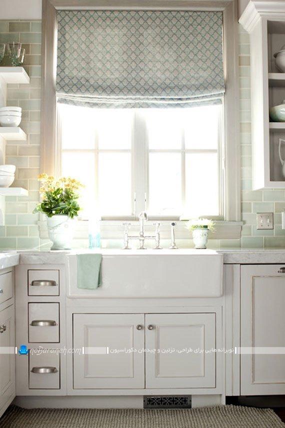 مدل های جدید پرده آشپزخانه / عکس