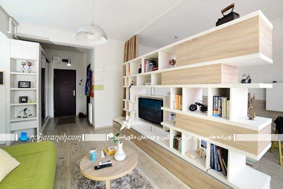 طراحی دکوراسیون و تزیین اتاق نشیمن / عکس