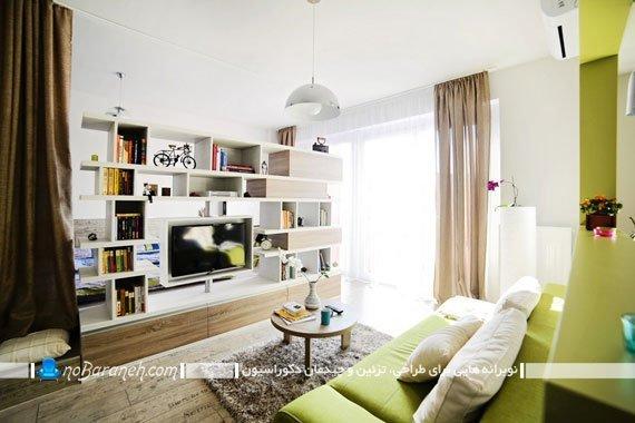 طراحی داخلی خانه 40 متری / عکس
