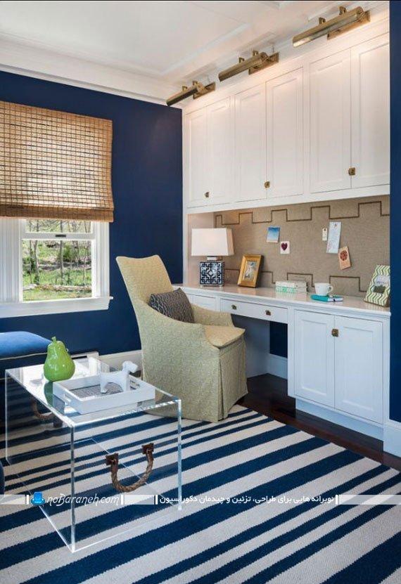 طراحی و دیزاین اتاق کار در منزل