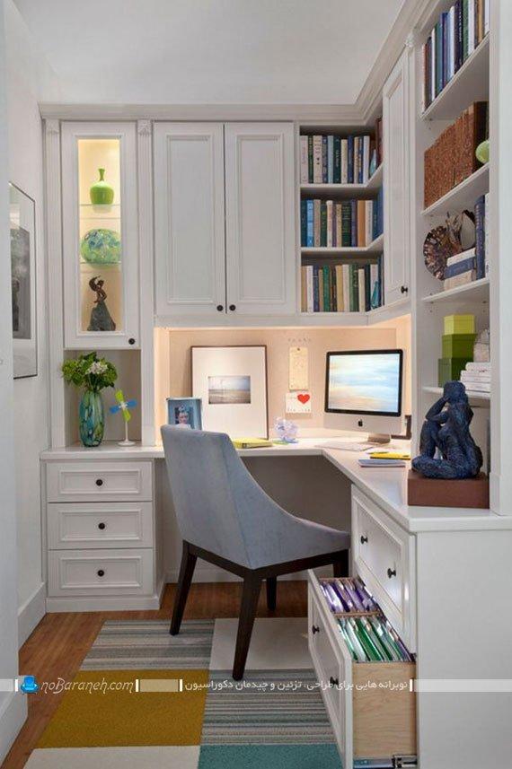 دکوراسیون اتاق کار و مطالعه خانگی