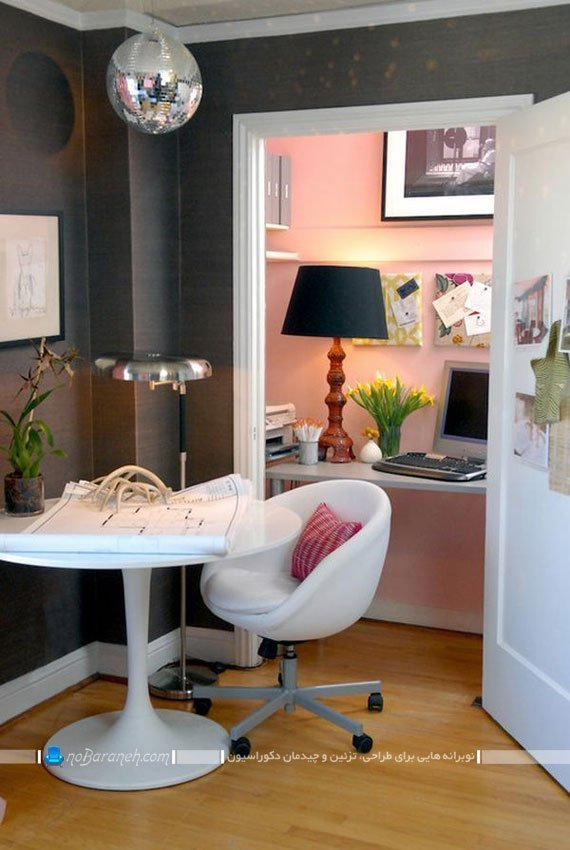 طراحی اتاق کار در خانه و منزل / عکس