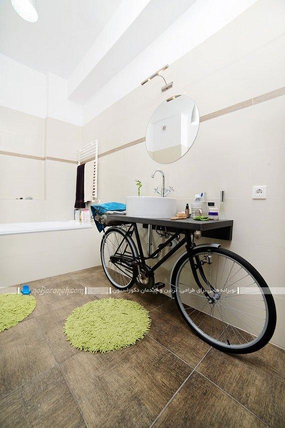 تزیین فضای داخلی سرویس بهداشتی / عکس