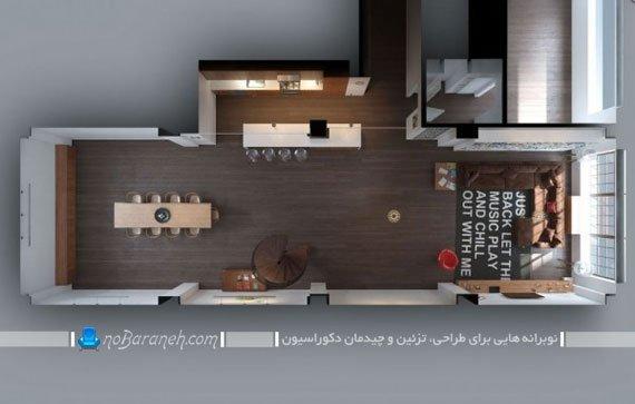 طراحی دکوراسیون داخلی مدرن / عکس