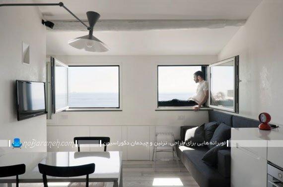 مدل دکوراسیون داخلی خانه و منزل کوچک / عکس