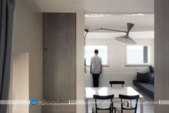 عکس و مدل طراحی داخلی آپارتمان کوچک / عکس