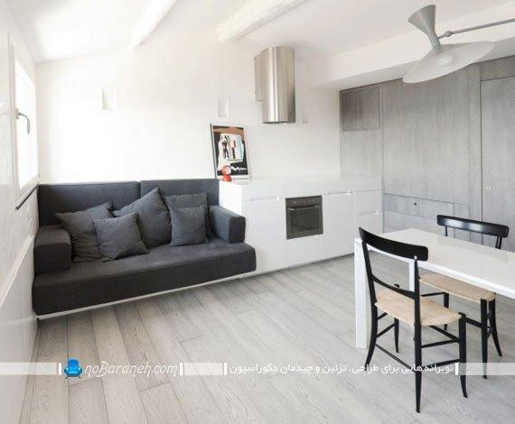 معماری و چیدمان خانه کوچک آپارتمانی