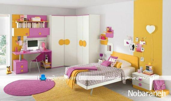 7 Inspiring Kid Room Color Options For Your Little Ones: نمونه مدلهای شیک و زیبا برای دیزاین دخترانه و پسرانه