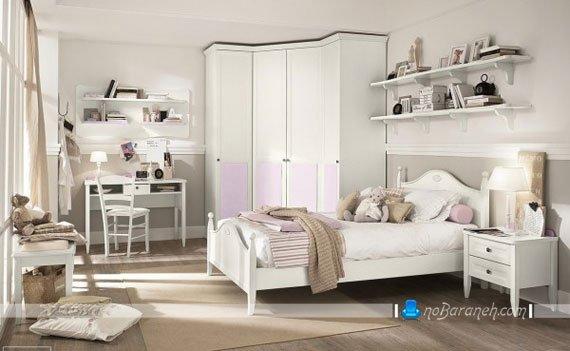 مبلمان و سرویس خواب اتاق نوجوان دختر