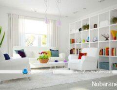 دیزاین و تزیین خانه و منزل به سبک بهاری