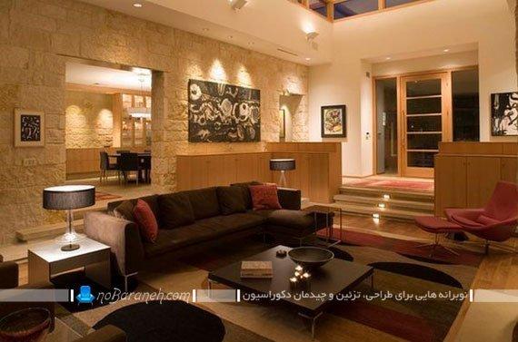 ایده طراحی و معماری نیمه دوبلکس در خانه لوکس و مدرن  نوبرانه
