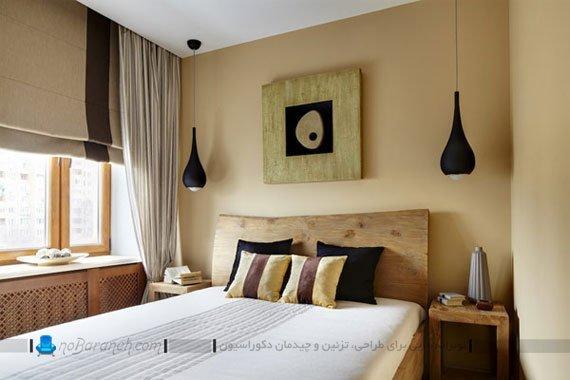دیزاین شیک و ساده در اتاق خواب / عکس