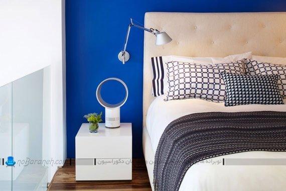 رنگ آمیزی شیک اتاق خواب دوبلکس