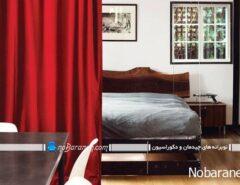 طرح جدید سرویس خواب اتاق عروس، ساده و کمجا