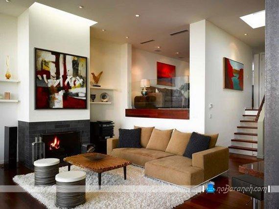 طراحی دکوراسیون خانه نیمه دوبلکس