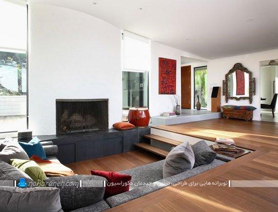 خانه دوبلکس مدرن / عکس