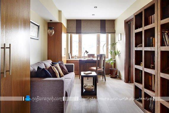 طراحی و دیزاین اتاق کار و مطالعه / عکس