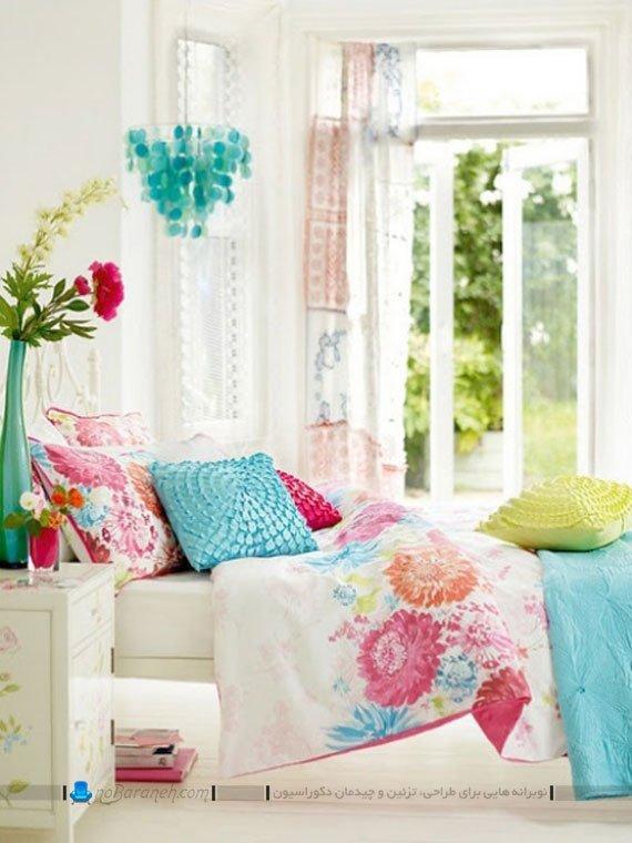 تزیین اتاق عروس با رنگ های شاد