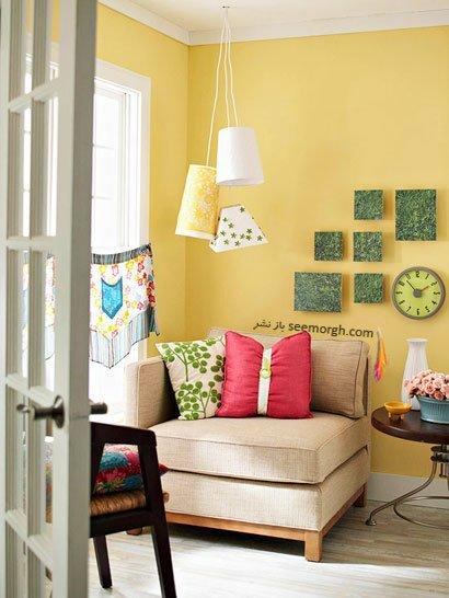 دیزاین و تزیینات اتاق نشیمن / عکس