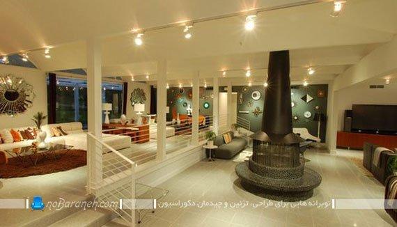 دکوراسیون داخلی خانه های بزرگ: مدل های پیاده سازی معماری نیمه دوبلکس در خانه