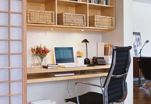 طراحی دکوراسیون اداری و دفتری در بخشی از خانه