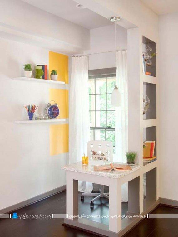 میز کار و مطالعه کوچک / عکس