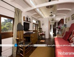 عکس دکوراسیون داخلی هتل کلاسیک در ترن قدیمی