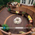 مدلهای دیزاین و طراحی دکوراسیون خارجی و حیاط خانه ویلایی