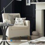طراحی دکوراسیون داخلی منزل با رنگ های سفید و مشکی